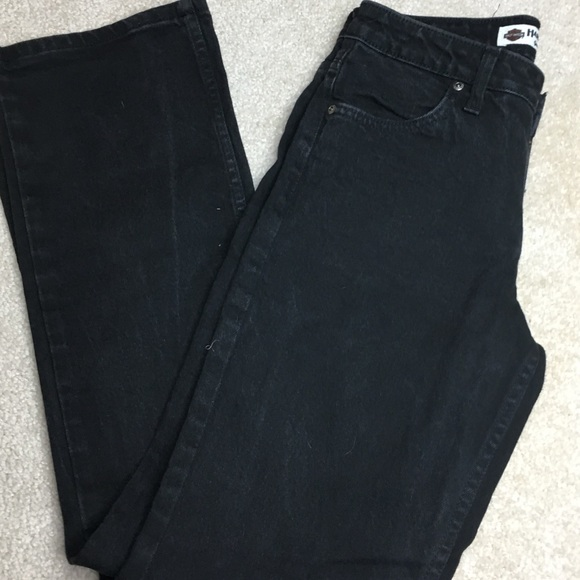 Harley-Davidson Denim - Black Harley Davidson bootcut Women's jeans size 4